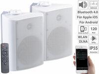 auvisio Aktive Multiroom-Stereo-Lautsprecher SMR-720.out