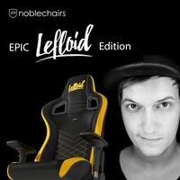 EXKLUSIV bei Caseking - Die LeFloid Special-Edition des preisgekrönten noblechairs EPIC Gaming-Stuhls.