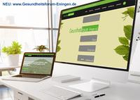 Neue Homepage und Weiterentwicklung des Gesundheitsforums Eningen