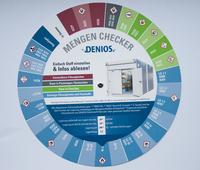 Mit dem DENIOS Mengen-Checker zur gesetzeskonformen Gefahrstofflagerung