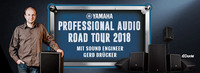 Yamaha Pro Audio Road Tour 2018: Großer Live-Sound, kompakt und vernetzt