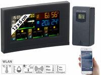 infactory WLAN-Funk-Wetterstation FWS-740