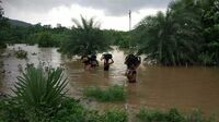 Jahrhundertflut in Kerala / Indien