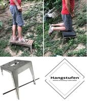 Hangstufen.de - Allroundlösung für sicheres Gehen und Arbeiten im Steilgelände