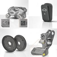 FOBA präsentiert Lasermarkierung für Automobilbauteile auf der IZB