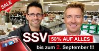 50% Rabatt auf große Schuhe beim Übergrößen-Spezialist schuhplus - SSV ab 28.08.