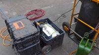 Elektromechanische Rohrreinigung