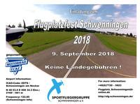 Flugplatzfest 9. September 2018 - Motorrad-Ecke Hauptsponsor