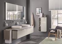 Badmöbel-Serie sanibel 2.0 FLEX: Neues Wohlfühl-Ambiente für das Bad und Gäste-WC