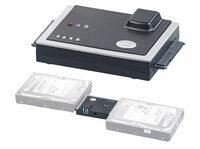 Xystec USB-3.0-Festplatten-Adapter mit Klon-Funktion, für HDD & SSD mit SATA