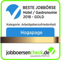 HOGAPAGE zur besten Jobbörse des Gastgewerbes 2018 gewählt