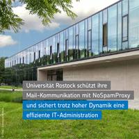 Universität Rostock nutzt NoSpamProxy zum Schutz der E-Mail-Kommunikation