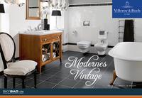 Moderne Vintage-Badezimmer