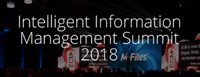 M-Files lädt zum Intelligent Information Management Summit 2018