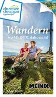 Chiemgau-Wanderkarten in 20.000 Meindl-Schuhkartons