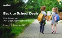 Reolink Back to School Deals 2018: IP-Kamera-Bestseller mit 10% Rabatt