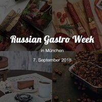 Russian Gastro Week 2018 in München: Spezialitäten aus Russland