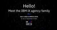 ecx.io - an IBM Company erstmals mit IBM iX auf der DMEXCO 2018