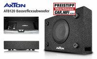 Klein, gut und günstig - AXTONs Subwoofer ATB120 getestet
