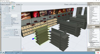 Cefla Shopfitting bietet Ladeneinrichtungen mit Software von Perspectix an