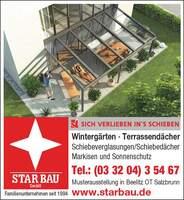 """""""Besser als bedacht"""" - Star-Bau GmbH bietet mit Vitello-Flex ein einzigartiges Schiebedachsystem"""
