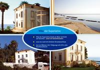Villa der Superlative direkt am Meer mit Sicht auf Sanremo