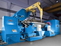 First roll grinding machine for aluminum rolling mills using CBN technology