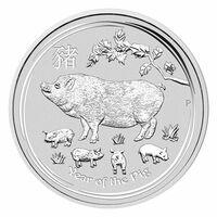 Jahr des Schweins - Silbermünzen 2019 aus Australien - Verkaufsstart in Deutschland erfolgt