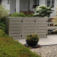 Die Mülltonnenbox, eine elegante Lösung