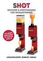 SHOT Erhitzer & Portionierer für Spirituosen und Liköre