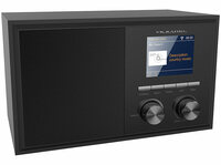 WLAN-Internetradio IRS-250 mit 2 Weckzeiten, Farbdisplay, Holzgehäuse, 6 Watt