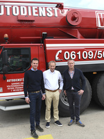 Hüffermann Krandienst übernimmt ADW Mobilkrane in Frankfurt am Main