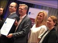 Institut für Persönlichkeit sichert sich den Europäischen Preis für Training, Beratung und Coaching in Gold