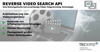 TECXIPIO bringt die Reverse Video Search API auf den Markt