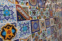 Neue Mexikanische Waschbecken und Fliesen in Cerames