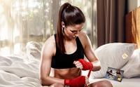Kickbox-Weltmeisterin Marie Lang als Markenbotschafterin