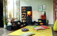 Heizen mit Holz: Atmosphäre und Wärme im Feuer vereint