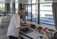 Eine Handbreit Wasser unterm Kochtopf - Starkoch Mirko Reeh auf kulinarischer Reise mit dem Hausboot durchs Burgund