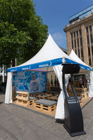 Münchener Oktoberfest mit Außenheizungen in attraktivem Design - Flüssiggasversorger PROGAS kooperiert mit weltweit bekanntem Hersteller Bromic Heatin