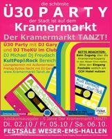 DER OLDENBURGER KRAMERMARKT TANZT - DIE Ü30 PARTY