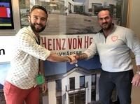 Heinz von Heiden und Carsten Stahl setzen ein Zeichen