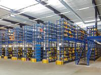 GEMAC Regalsysteme für Industrie und Handel