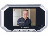 Digitale Türspion-Kamera VTK-200 mit 8,9-cm-Display, PIR, Aufnahme, Nachtsicht