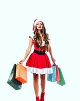 Umweltfreundliche Papiertragetaschen für das Weihnachtsgeschäft