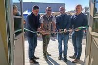 """Salamander feiert am Headquarter Neueröffnung """"Zum Lurchi"""""""