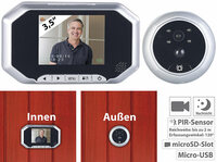 Somikon Digitale Türspion-Kamera VTK-200