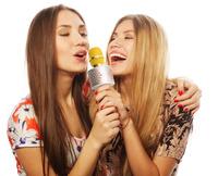 Karaoke-Mikrofon aus der MusicMan-Range von Technaxx