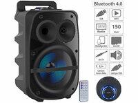 auvisio Mobile PA-Partyanlage PMA-950.k, 150 Watt