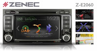 ZENEC Z-E2060: Top Entertainer with Sat Nav Option for VW T5