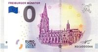 Erstausgabe eines Null-Euro-Scheins in Freiburg (12.10.2018) am Münsterplatz